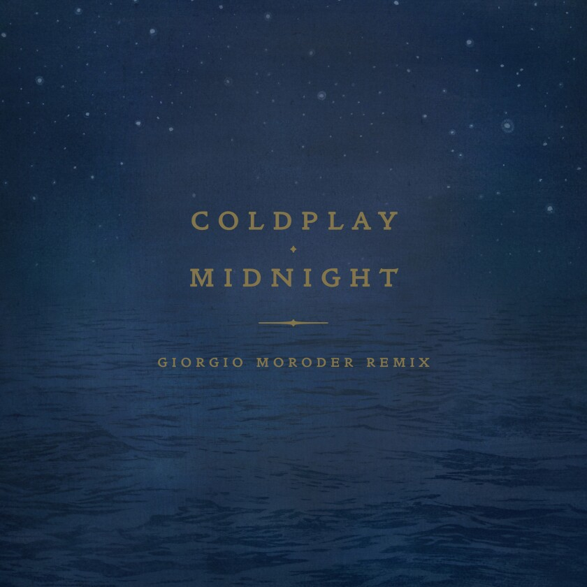 Listen: Giorgio Moroder enlivens Coldplay's 'Midnight' in new remix