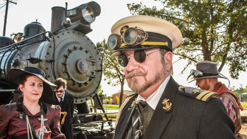 The restored Ventura County Railway No. 2 steam locomotive is namesake of the Iron Horse Family Steampunk Carnivale, March 18-19 at the Orange Empire Railway Museum.
