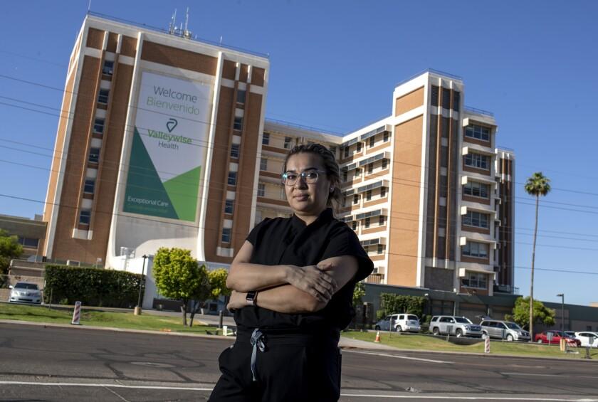 Karen Garcia is among at least 27,000 DACA recipients who work in healthcare nationwide.