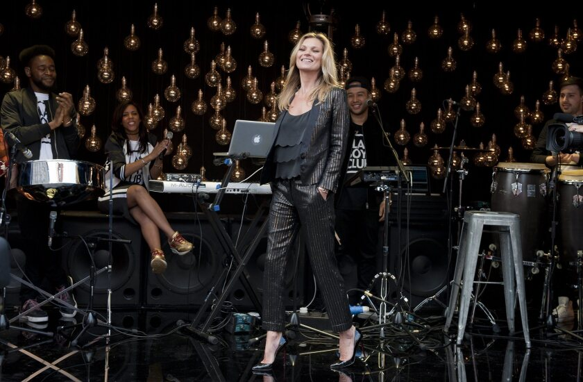 Kate Moss unveils latest Topshop clothing line