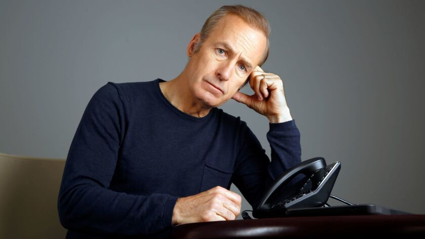 "Actor Bob Odenkirk stars in the AMC hit show ""Better Call Saul."" Photographed in Manhattan on April"
