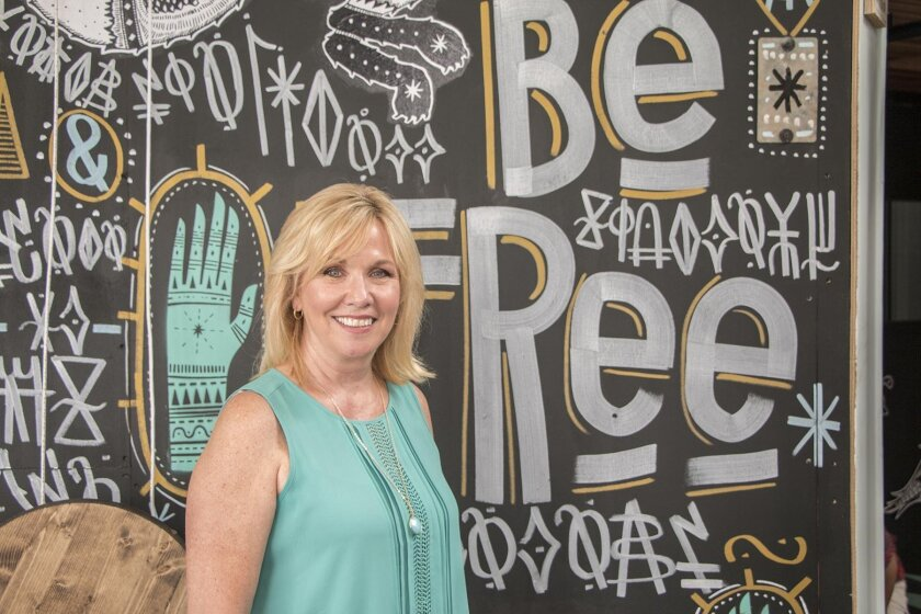 Judy Forrester, the museum's new CEO/executive director