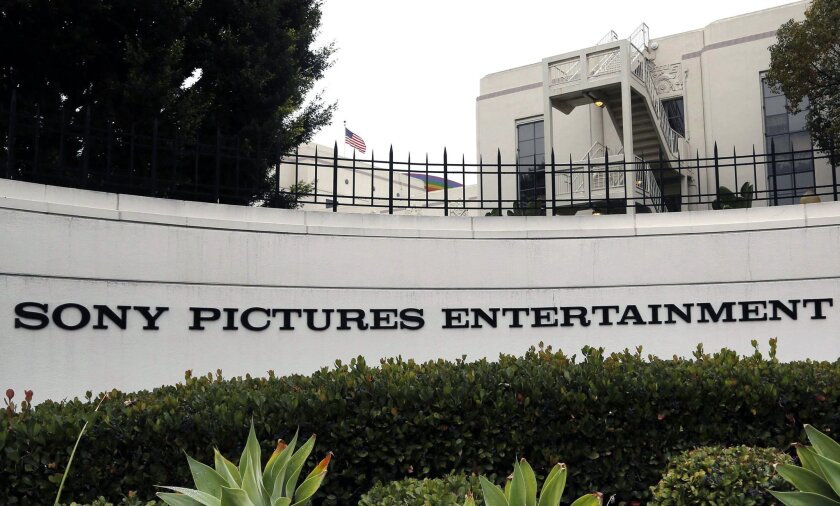 A North Korean diplomat has denied suggestions that Pyongyang was behind a recent data security breach at Sony Pictures Entertainment. Above, the studio's headquarters in Culver City.