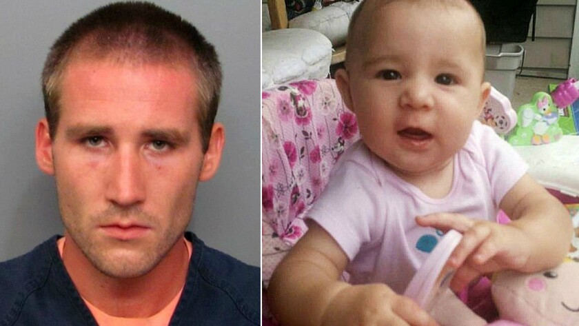 Matthew Graham and his missing 6-month-old daughter, Ember.