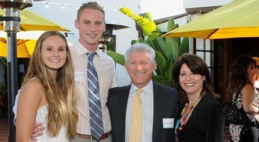 Lauren Bickford and Reggie Bickford representing the Law Offices of Nancy Bickford, Stephen Pfeiffer and MainStreet Communications Publisher Phyllis Pfeiffer