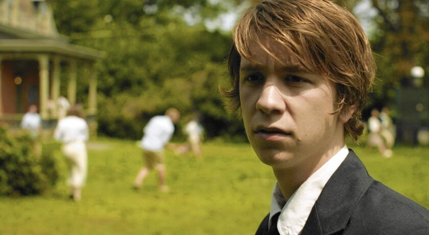 """Thomas Mann in the 1980s-set """"The Preppie Connection."""""""