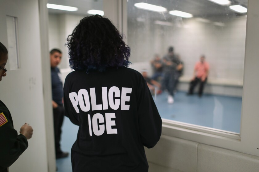 Coronavirus Spreads In Immigrant Detention Centers Los Angeles Times