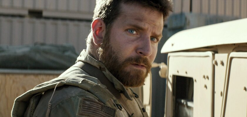 """I always feel like I carry the character with me,"" Bradley Cooper said of his role in ""American Sniper."" ""I just found tremendous empathy for him; I admired the sacrifice he made, his strength."""