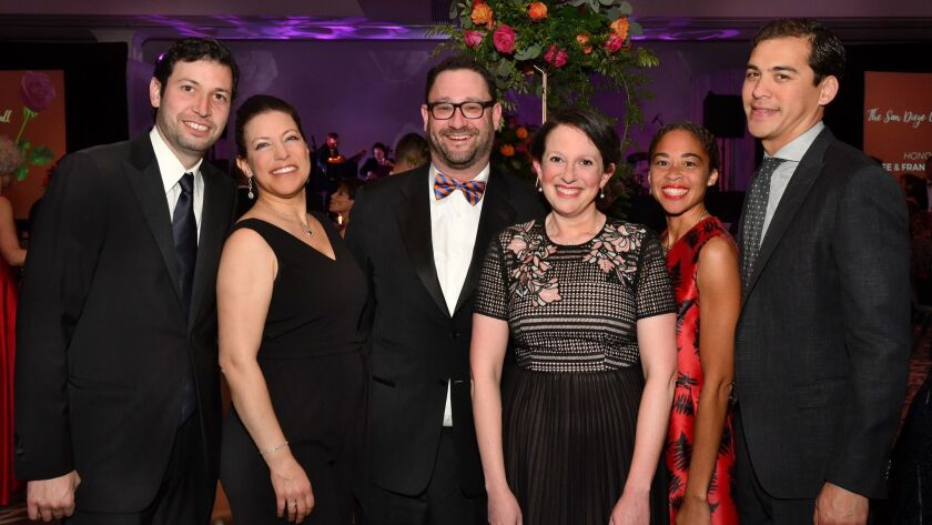 Lucian Iancovici, Elyssa Rosenberg, Michael Weiner, Annie Ulevitch, Nicole and Kevin Forrest