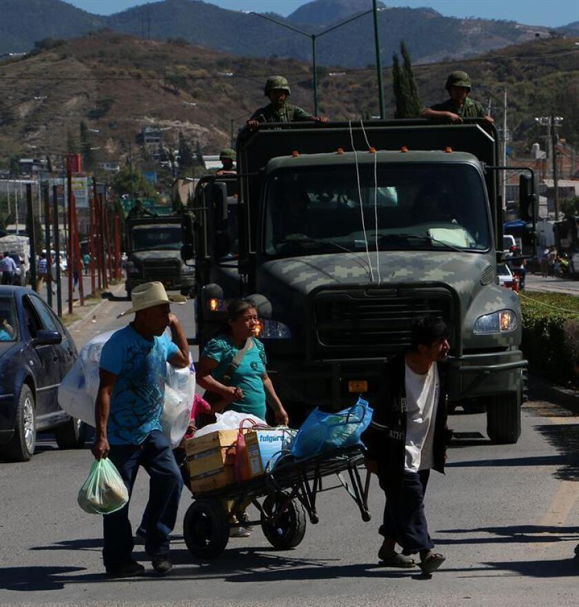 Debido a la violencia que se ha desatado en Guerrero, unos 3.500 militares y 200 policías federales y estatales arribaron el miércoles, 27 de enero, para participar en el Operativo Chilapa, que se inició ese mismo día con el objetivo de reducir la violencia ligada al crimen organizado en varios municipios del estado mexicano de Guerrero, informaron las autoridades.
