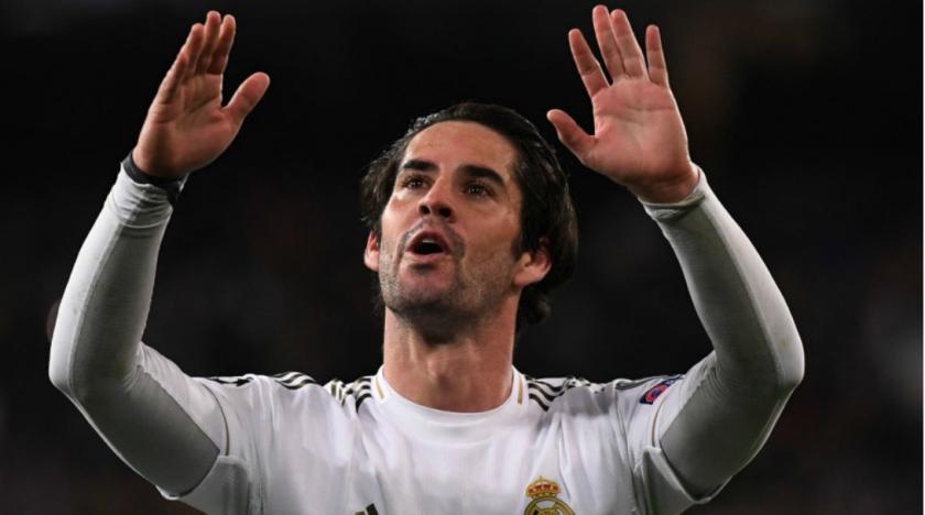 Isco ya informó al club blanco que se quiere ir en enero. / Foto AFP