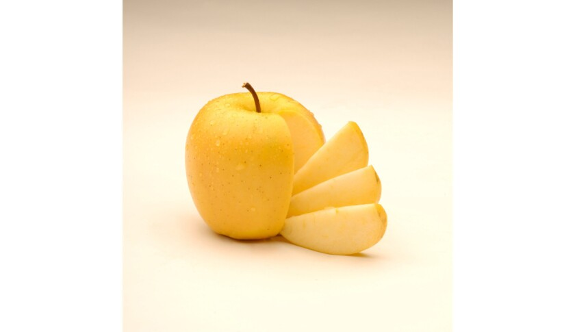 The Arctic apple, a genetically modified apple that never browns, is set to hit stores early this year.