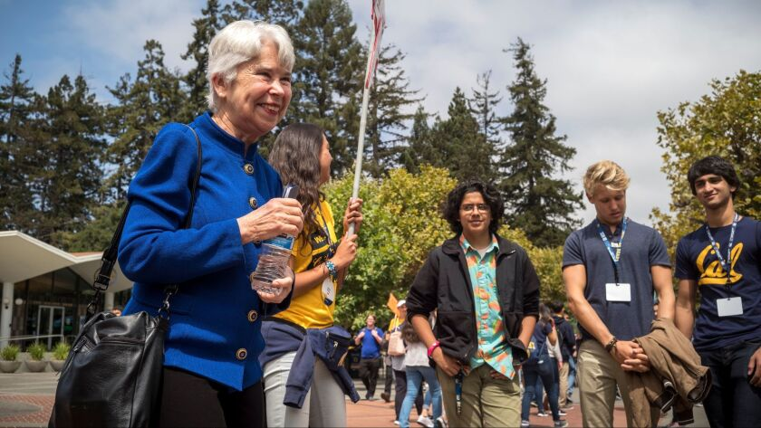 UC Berkeley Chancellor Carol Christ