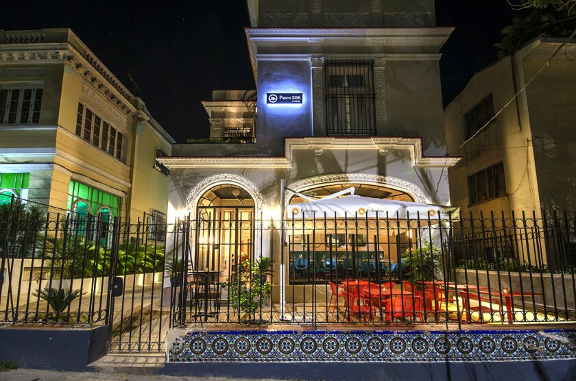 Paseo 206, one of the boutique hotels where you'll stay on this tour.