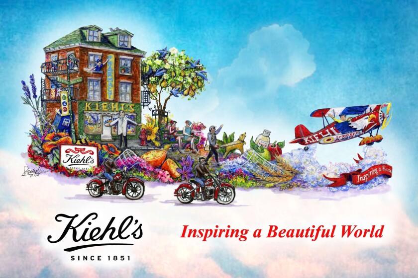 Kiehl's Rose Parade Floata