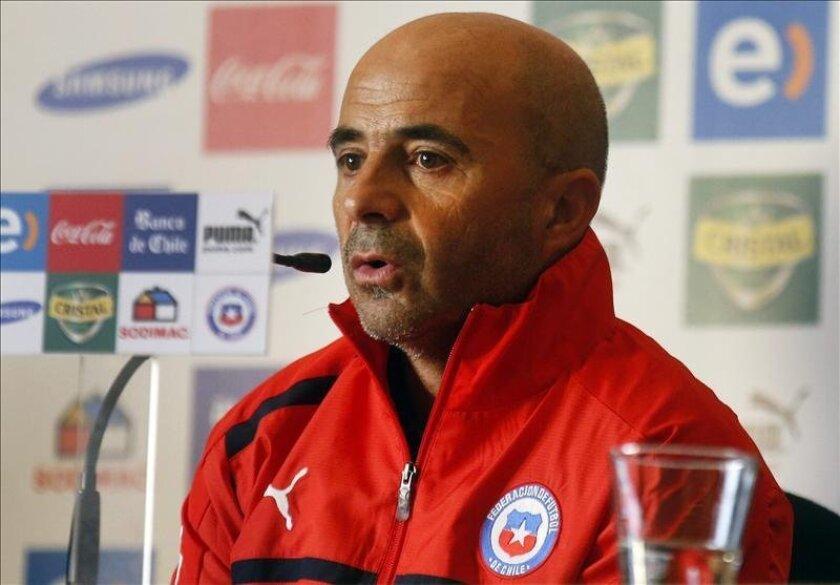 El exseleccionador argentino de Chile, Claudio Borghi. EFE/Archivo