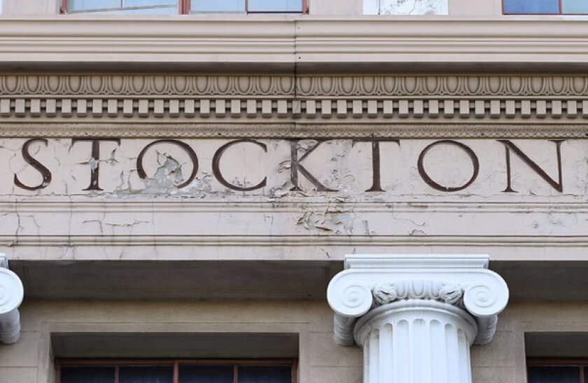 Stockton bankruptcy clears way for CalPERS pension fight