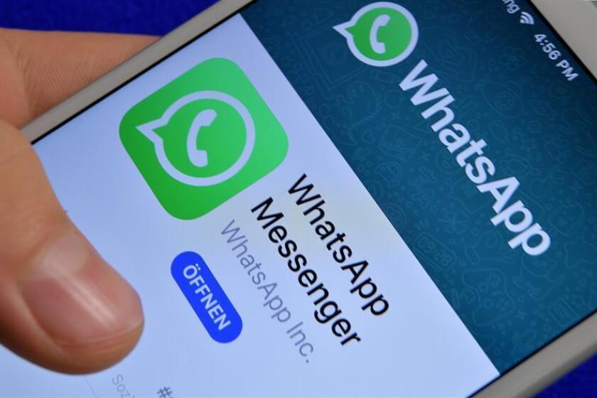 WhatsApp borra desde hoy los chats que no estén almacenados en Google Drive. EFE/Archivo