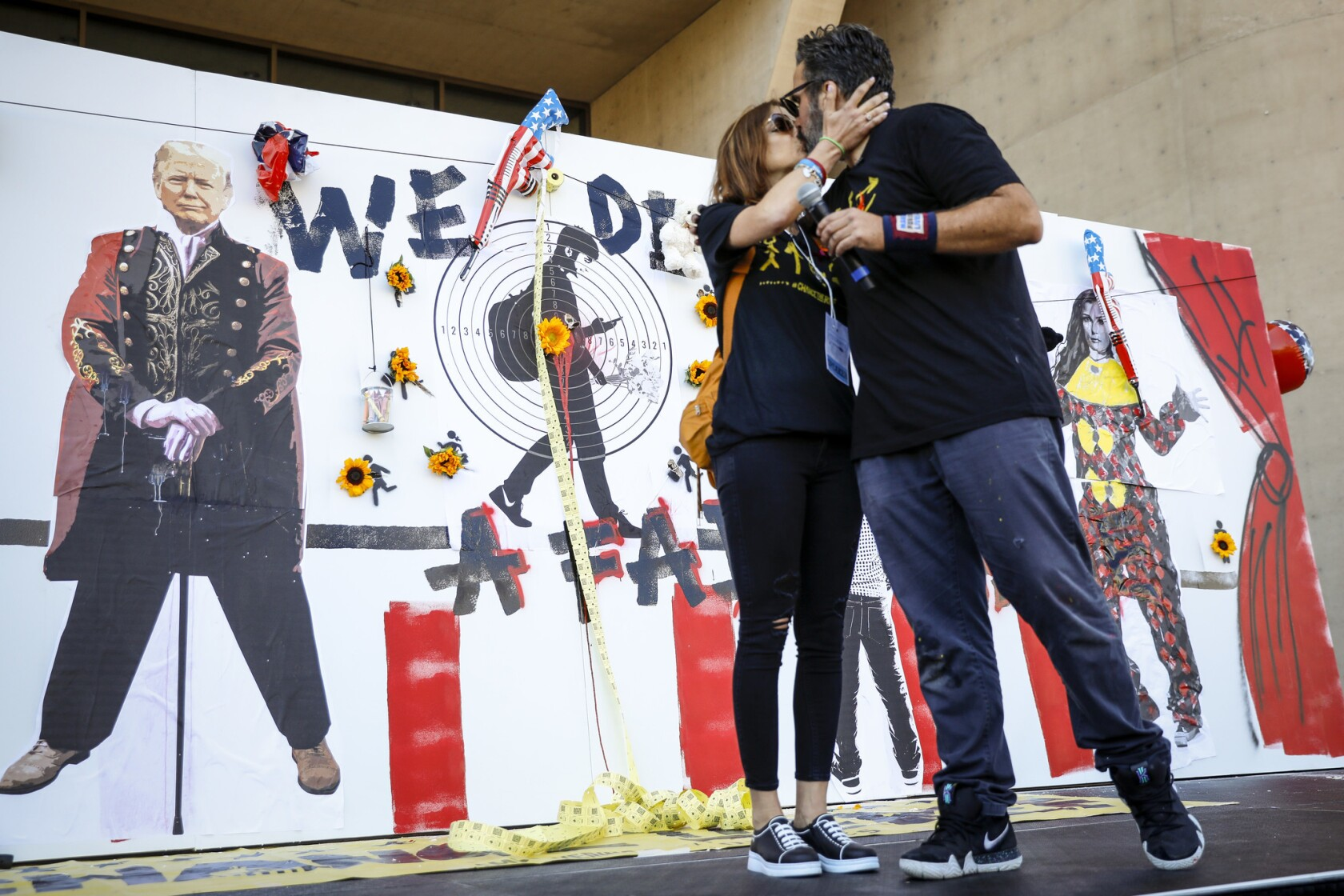 Grieving parents of teen killed in Parkland school shooting use 'graphic activism' to confront the NRA