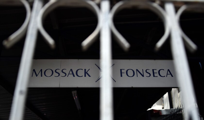 The Mossack Fonseca law firm offices in Panama City. Reports based on a massive cache of leaked documents from the firm appear to show how the world's political, sports and entertainment elite have hidden money in offshore accounts.