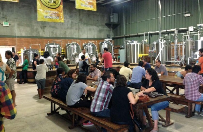 The Wendlandt Brewery, located in a warehouse just north of downtown Ensenada, has a tasting room that's open on Saturdays.