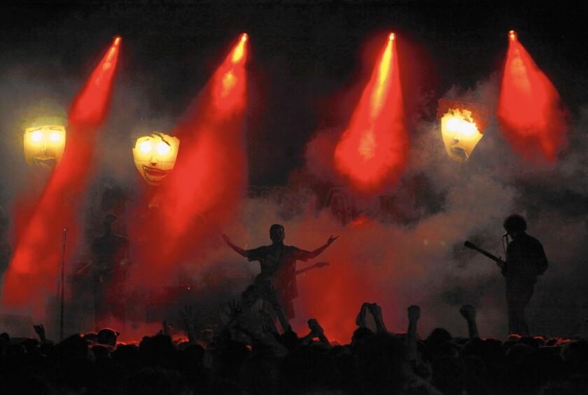 FIDLAR performs at the fourth annual Burgerama, the two-day Santa Ana festival thrown by OC DIY impresarios Burger Records.