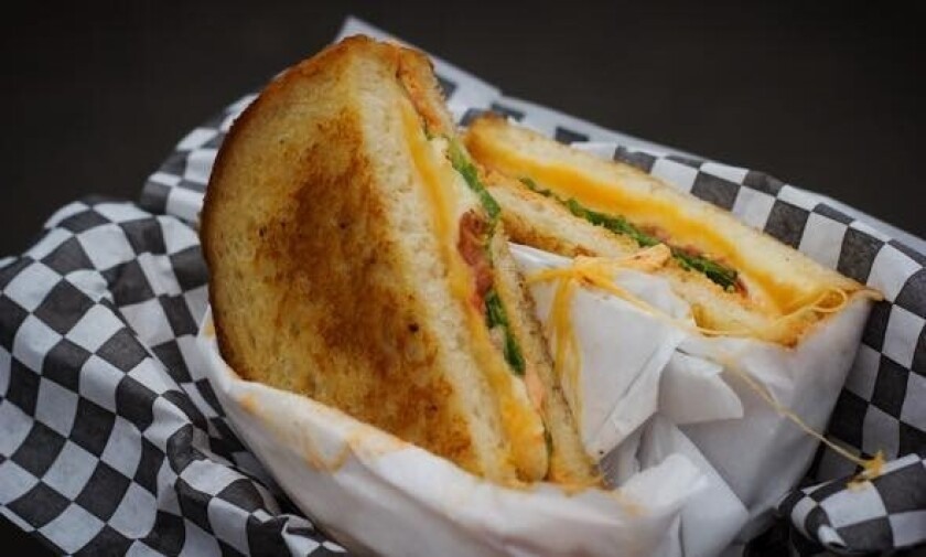 The caprese from Grater Grilled Cheese (Grater Grilled Cheese)