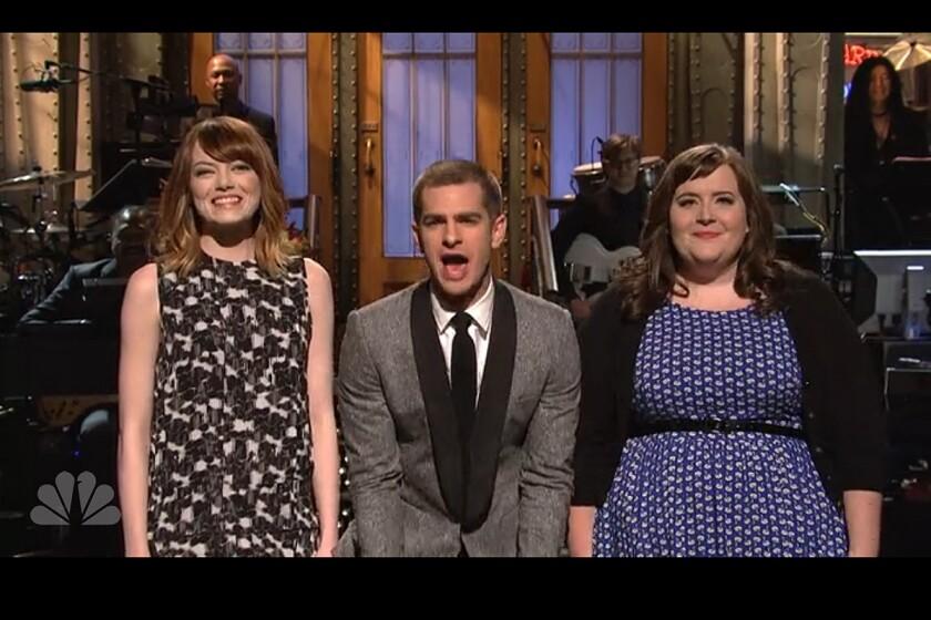 Andrew Garfield on 'SNL'