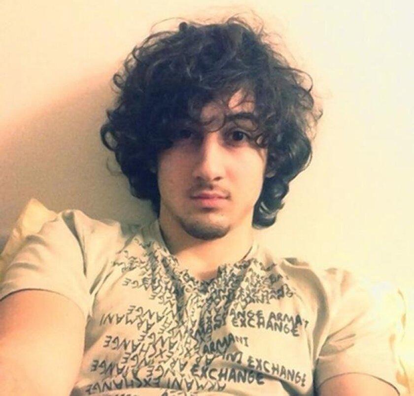 Twitter profile photo of Boston Marathon bombing suspect Dzhokhar Tsarnaev