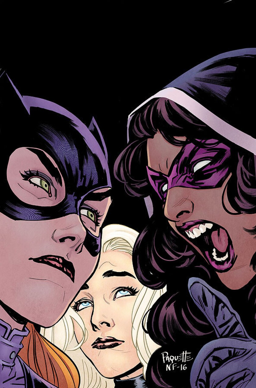 """""""Batgirl and the Birds of Prey,"""" written by Julie Benson and Shawna Benson; art by Claire Roe."""