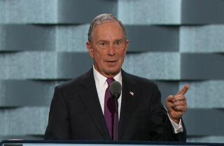 Watch: Michael Bloomberg attacks Donald Trump's business record at the Democratic National Convention