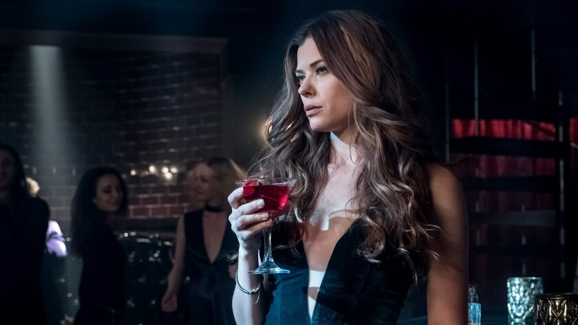 """Poison Ivy (Peyton List) returns with a new look on Fox's """"Gotham."""""""