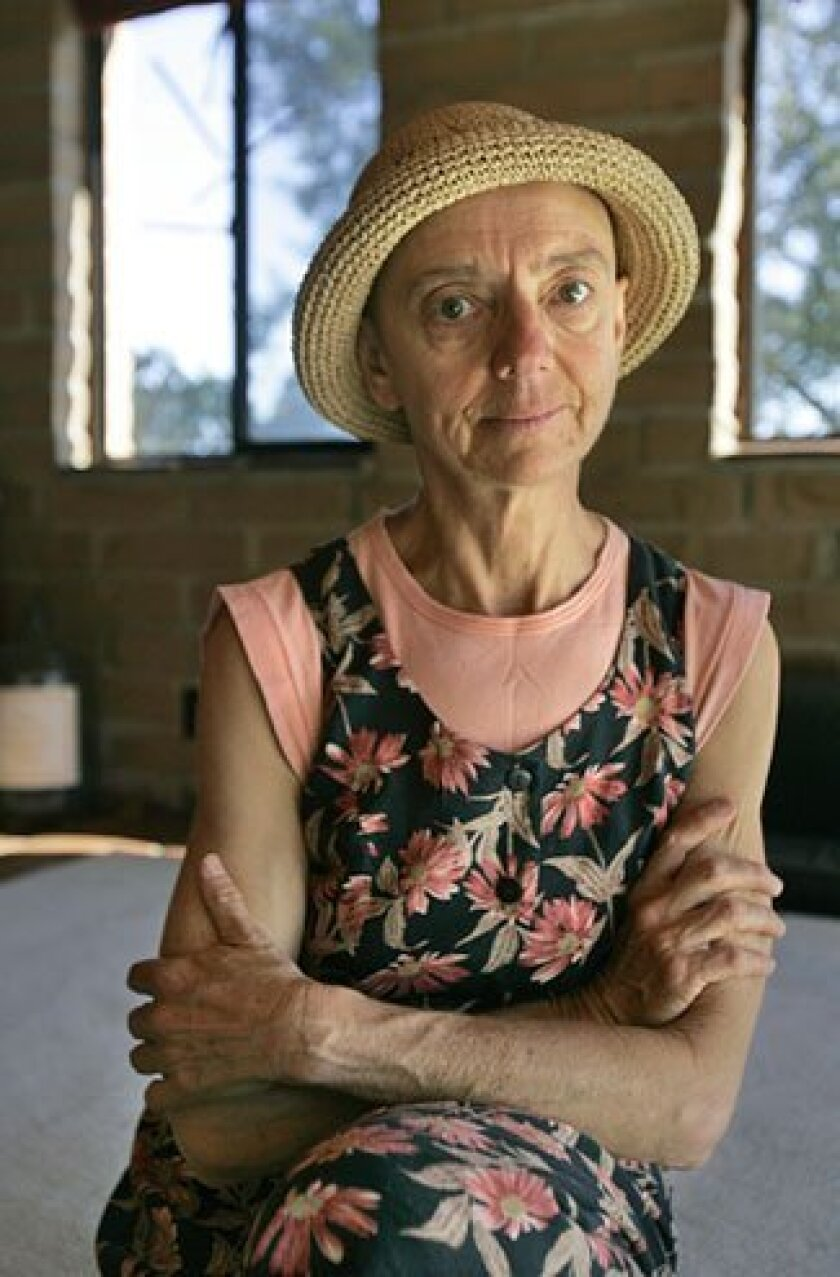 Charlene Penner racked up medical bills totaling more than $150,000 after being bitten by a rattlesnake. (Nancee E. Lewis / Union-Tribune)