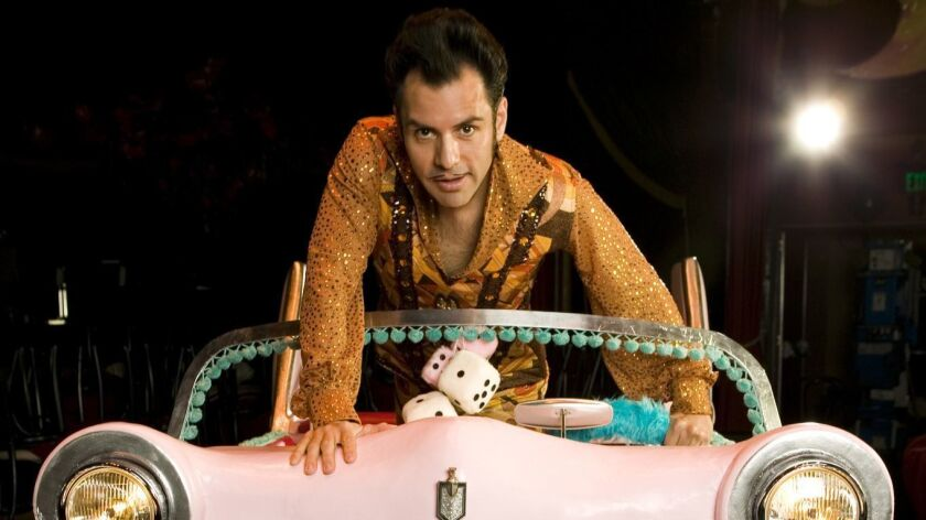 "San Diego native El Vez, who bills himself (at least this time of the year) as ""the world's greatest snowman,"" is heading back to town for his annual ""Merry Mex-Mas"" show at the Casbah."