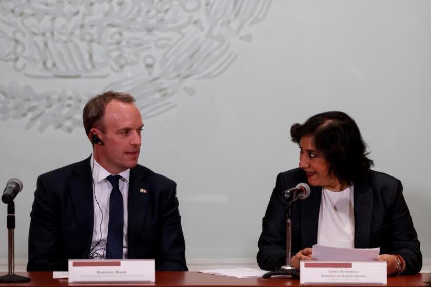 México y Reino Unido acuerdan colaborar para combatir pobreza y corrupción