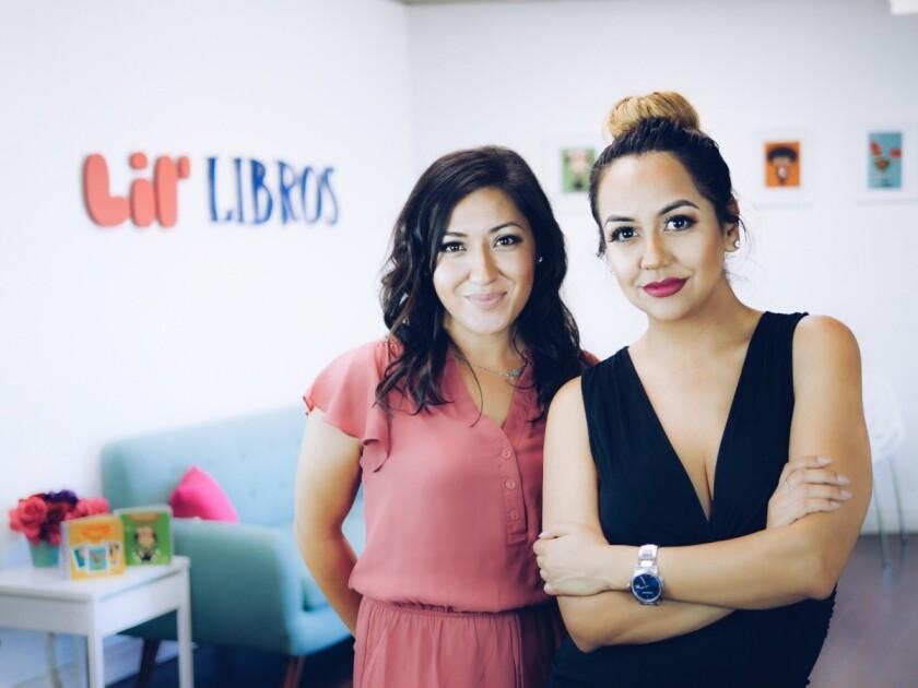 Patty Rodriguez y Ariana Stein son las fundadores de la empresa Lil Libros.
