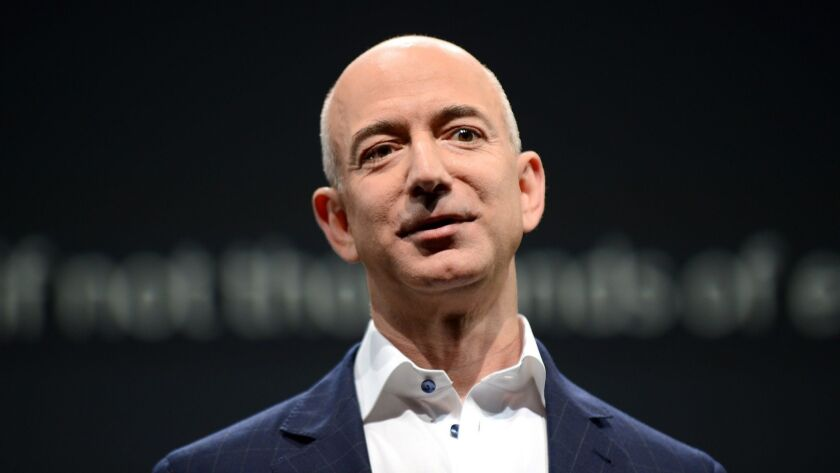Jeff Bezos, CEO of Amazon. The shares his parents, Jackie and Mike Bezos, received for investing $245,573 in the company in 1995 could be worth almost $30 billion today.