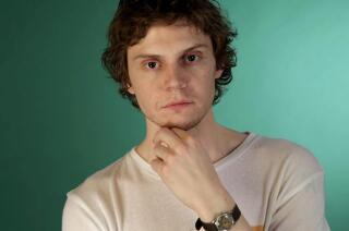 Evan Peters talks about inhabiting his many characters in 'American Horror Story: Cult'