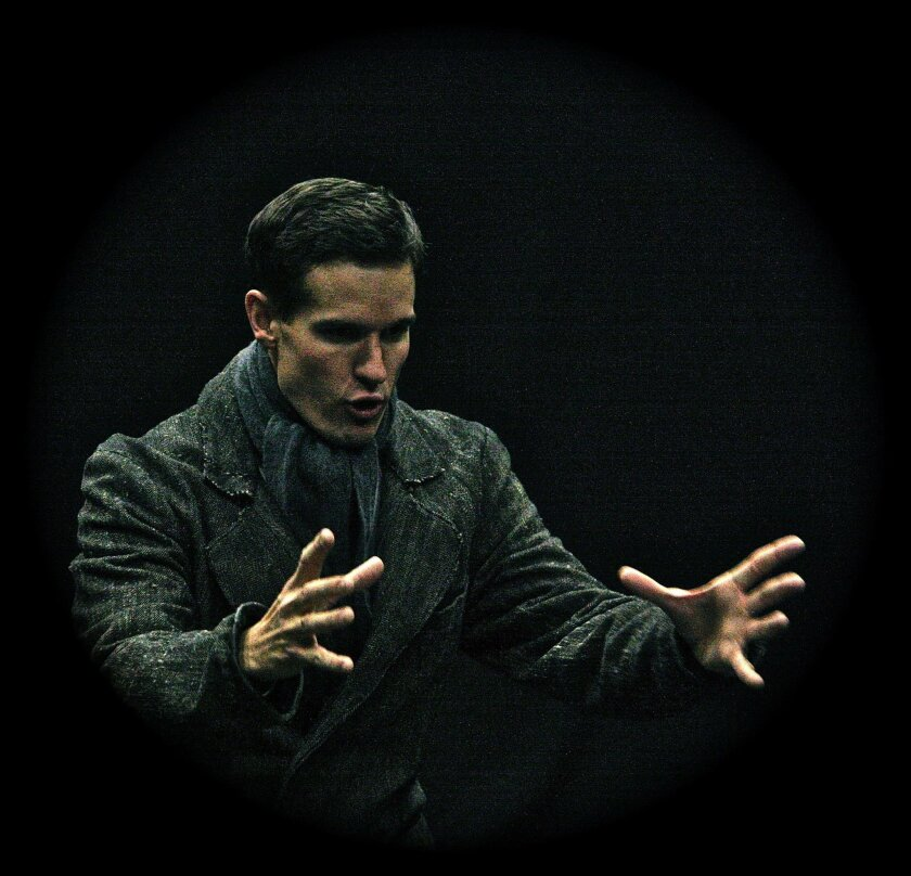 "Daniel Llewelyn-William stars in ""A Regular Little Houdini"" at San Diego International Fringe Festival."
