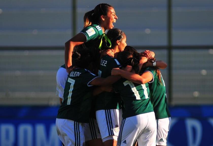 Imagen de archivo de las jugadoras de México. EFE/Archivo