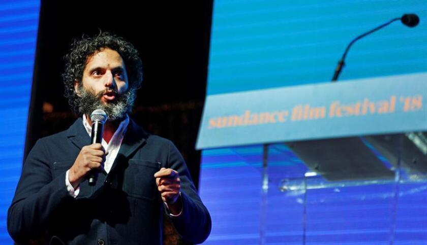 US comedian Jason Mantzoukas speaks during the opening of the 2018 Sundance Film Festival Awards Night in Park City, Utah, USA. EFE