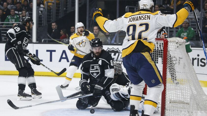 What We Learned From The Kings 3 1 Loss To Nashville Los Angeles