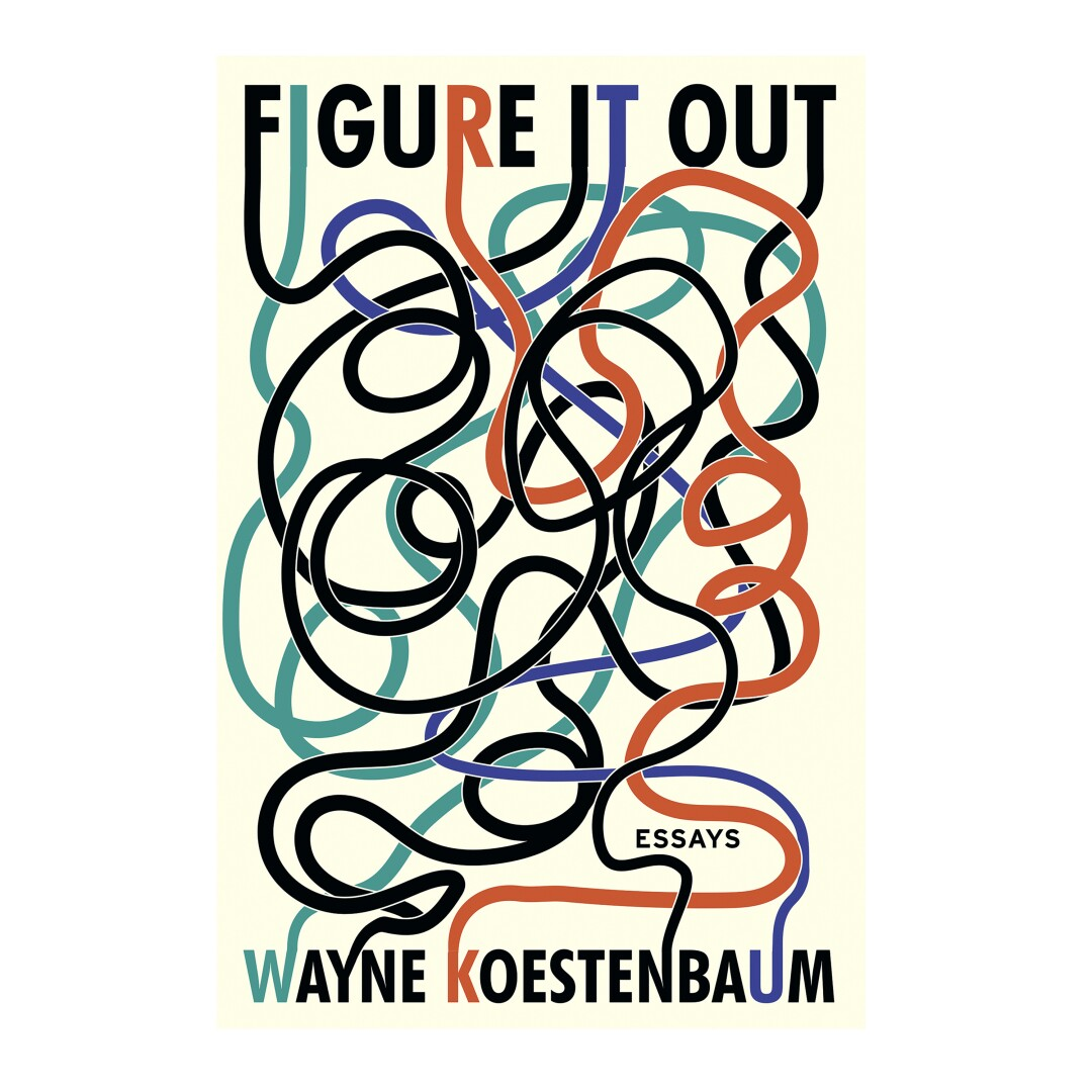 GIFT GUIDE - Cover of Figure It Out: Essays by Wayne Koestenbaum.