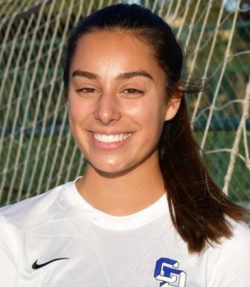 Tara Jessen, La Jolla Country Day high school girls soccer