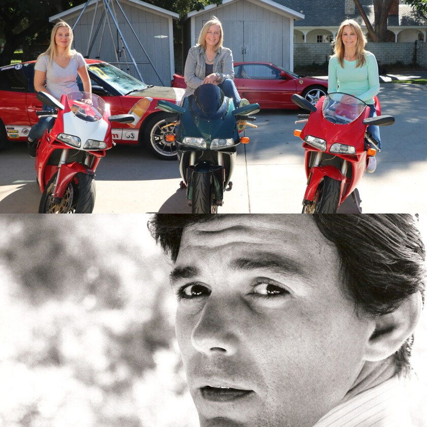 """Three of those featured in """"Stuntwomen"""" and Jay Sebring, the subject of """"Jay Sebring.... Cutting to the Truth"""""""