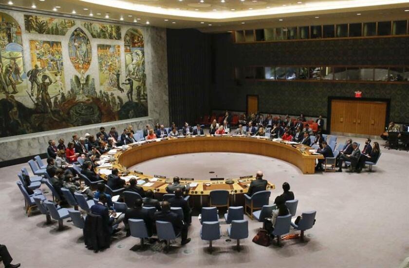 El Consejo de Seguridad de la ONU demandó hoy que se mantenga abierto el puerto yemení de Al Hudeida en medio de la ofensiva lanzada por fuerzas yemeníes y sus aliados para arrebatárselo a los rebeldes hutíes. EFE/Archivo