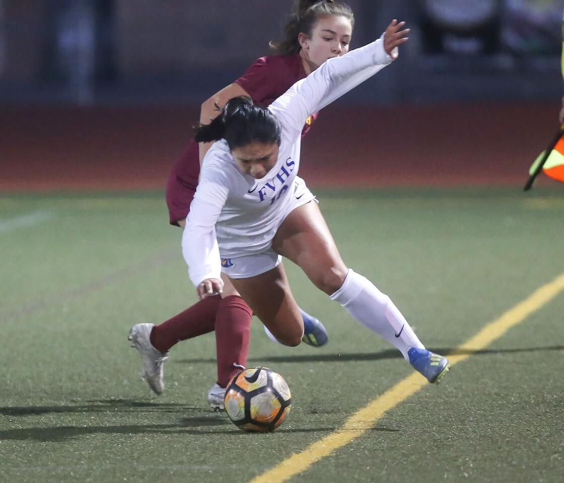 Photo Gallery: Fountain Valley vs. Estancia in girls' soccer