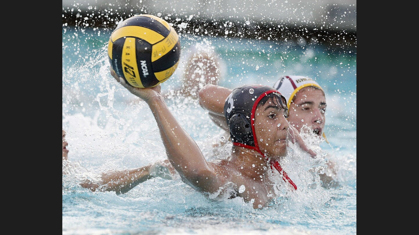 Photo Gallery: Burroughs vs. Arcadia in Pacific League boys' water polo semifinals