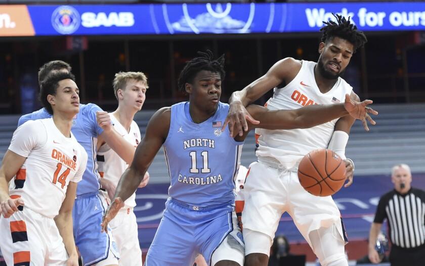 Boeheim Scores 26 Syracuse Edges Tar Heels 72 70 The San Diego Union Tribune