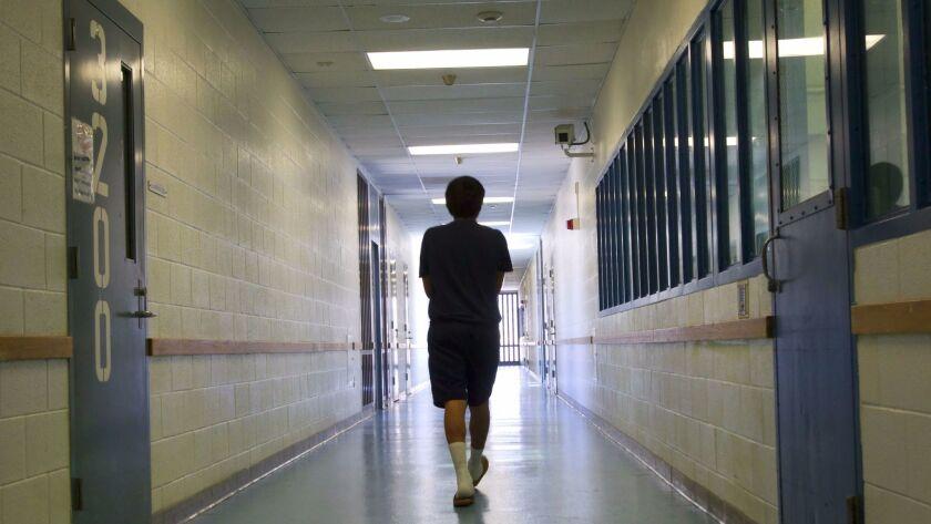 Juvenile detention facility